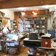 An art studio in Gore Bay's Harbour Centre