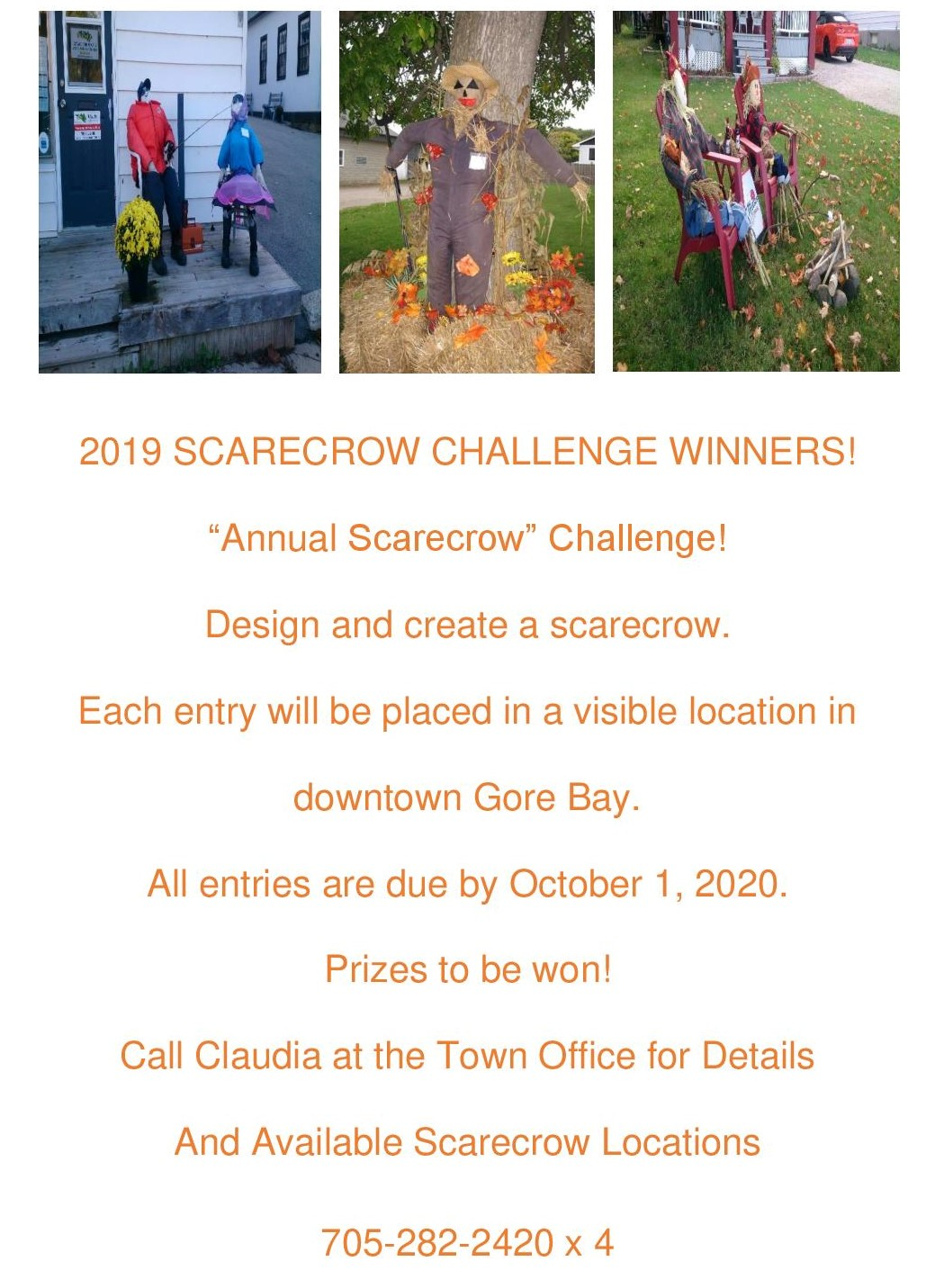 Annual Scarecrow Challenge 2020!