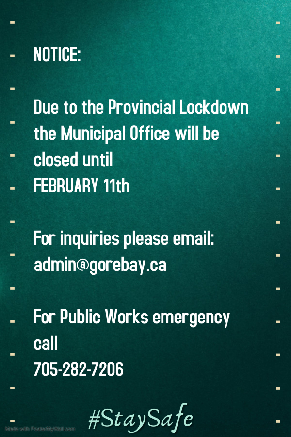 Municipal Office Closure